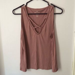 American Eagle Soft & Sext Sueded Tank Top